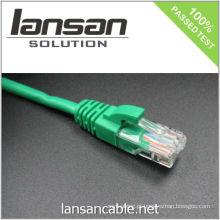 4PR 24AWG RJ45 UTP CAT 5e Cabo / Patch Cabo / Patch Cord / cabo Ethernet, 100Mhz / PVC / LSOH
