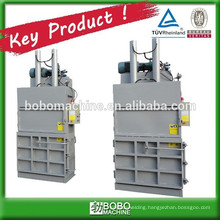 Semi-automatic vertical pet bottle baling machine