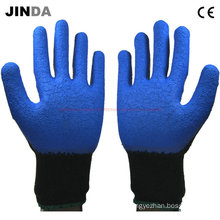 Ls004 Latex Coated Construction Work Gloves