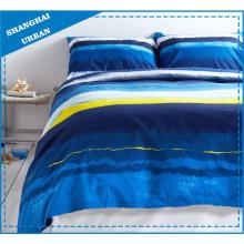 Ocean Impressionist Printed Cotton Duvet Cover Bedding