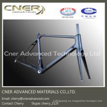 Cuadro de bicicleta de alta resistencia, cuadro de fibra de carbono Road Bke