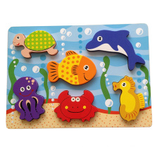 Educational Wooden Puzzle Chunky Puzzle (34771)