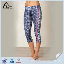 Großhandel Mode Subliusion Capris für Yoga
