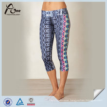 Wholesale Fashion Subliamtion Capris for Yoga