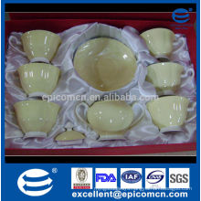 promotion sale gift tea set bone china cups and saucers