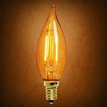 Tc32 3.5W Amber Candle Bulb Dimming LED Filament Bulb