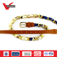 Copper buckle material metal belt