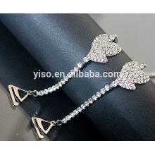 Sangles de soutien-gorge à bijoux