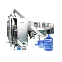 Línea de producción de embotellado de máquina de llenado de agua pura de barril