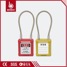 Osha China Brady OEM / ODM Certificação CE Cabo ABS Cadeado de segurança BD-G42