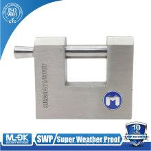 Candado MOK W71 / 60W candado principal rectangular 70 mm 80 mm taquilla impermeable