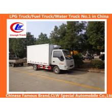 JAC 80HP, 85HP, 90HP 4*2 Mini Refrigerator Truck