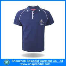 Mode Bekleidung Männer atmungsaktive Baumwolle Polo Shirts mit Logo