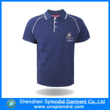 Fashion Apparel Men Breathable Cotton Polo Shirts with Logo