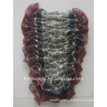 Latest fashion printing elastic scarf