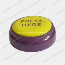Botão fácil, botão de som, gravador de voz, caixa de som