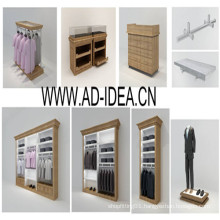 Retail Store Garment Rack, Display Stand, Exhibition Stand (AD-GSF-8843)