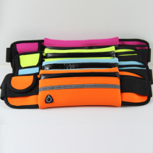 Neoprene sports waist bag for running cellphone hold