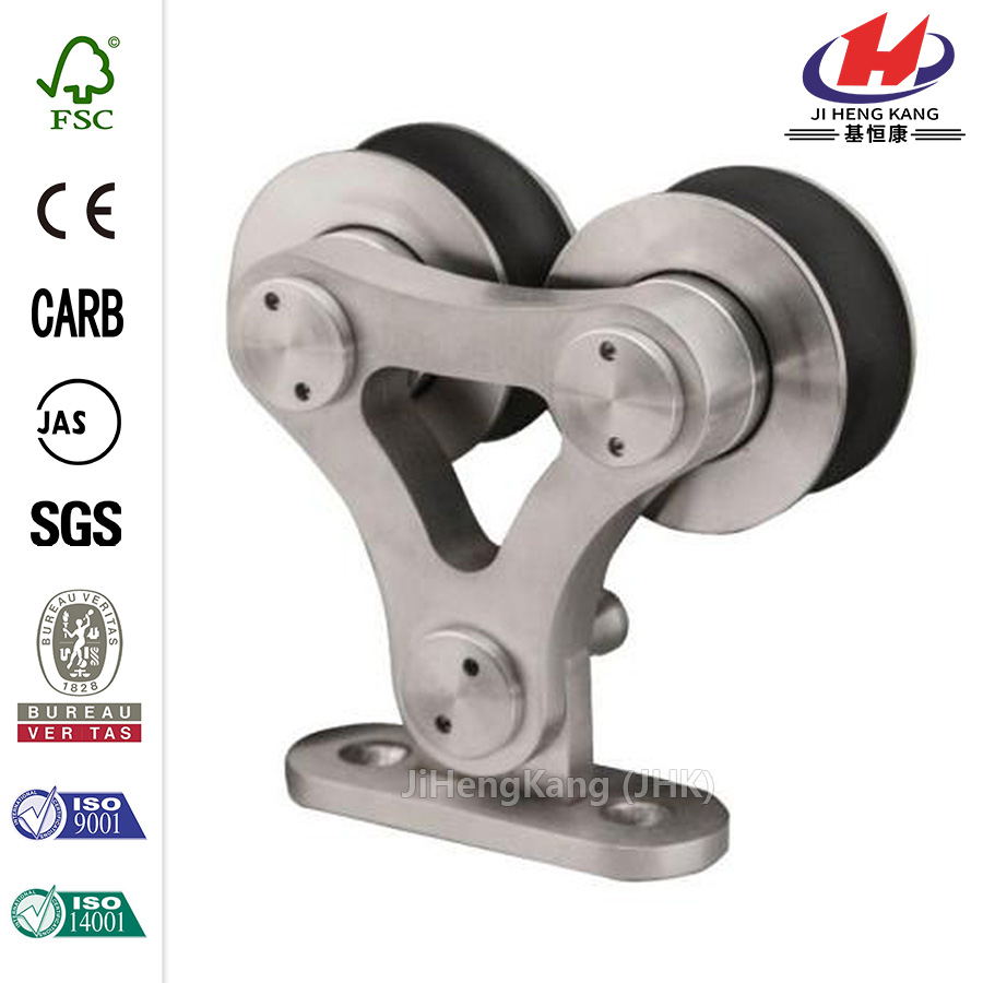 Dual Wheel Rolling Door Hardware
