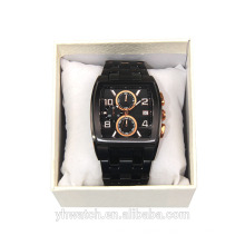 Best quality luxury waterproof alloy china watch factory