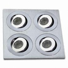 12W Square LED Recessed Lights-12X1W
