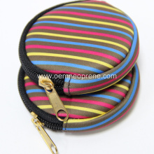 Colorful Neoprene Coin Bag Wallet Bag