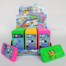 Musical Mobile Prejector Toy with Candy (130920)