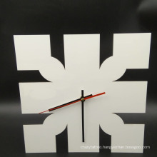 Sublimation MDF Clock for Heat Transfer Printing