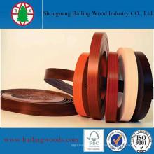 Fabricación de bandas de borde de PVC para muebles
