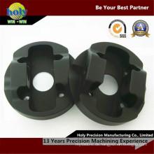 Elektrischer kundenspezifischer CNC-Aluminiumfall-schwarzes anodisiertes Ende