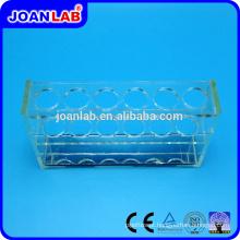 JOANLAB Plexiglass Test Tube Rack para uso em laboratório