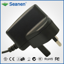 5watt/5W Power Adapter with UK Pin for Mobile Device, Set-Top-Box, Printer, ADSL, Audio & Video or Household Appliance