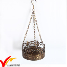The Home Decorations Crown Tealight Holder