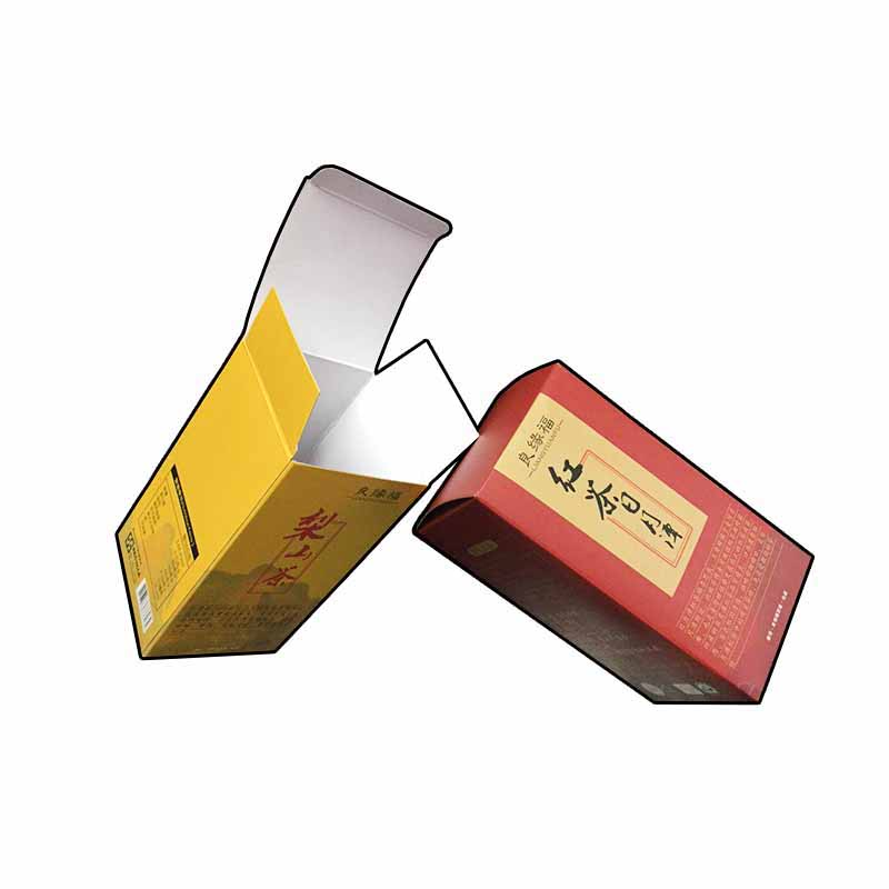 Tea Color Printing Card Box