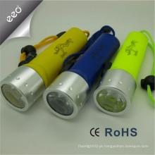 Loja on-line luz de mergulho levou XM-L T6 LED 18650 impermeável mergulho lanterna tocha luz da lâmpada