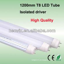 La mejor calidad 18w 1200m m t8 llevaron el accesorio del tubo