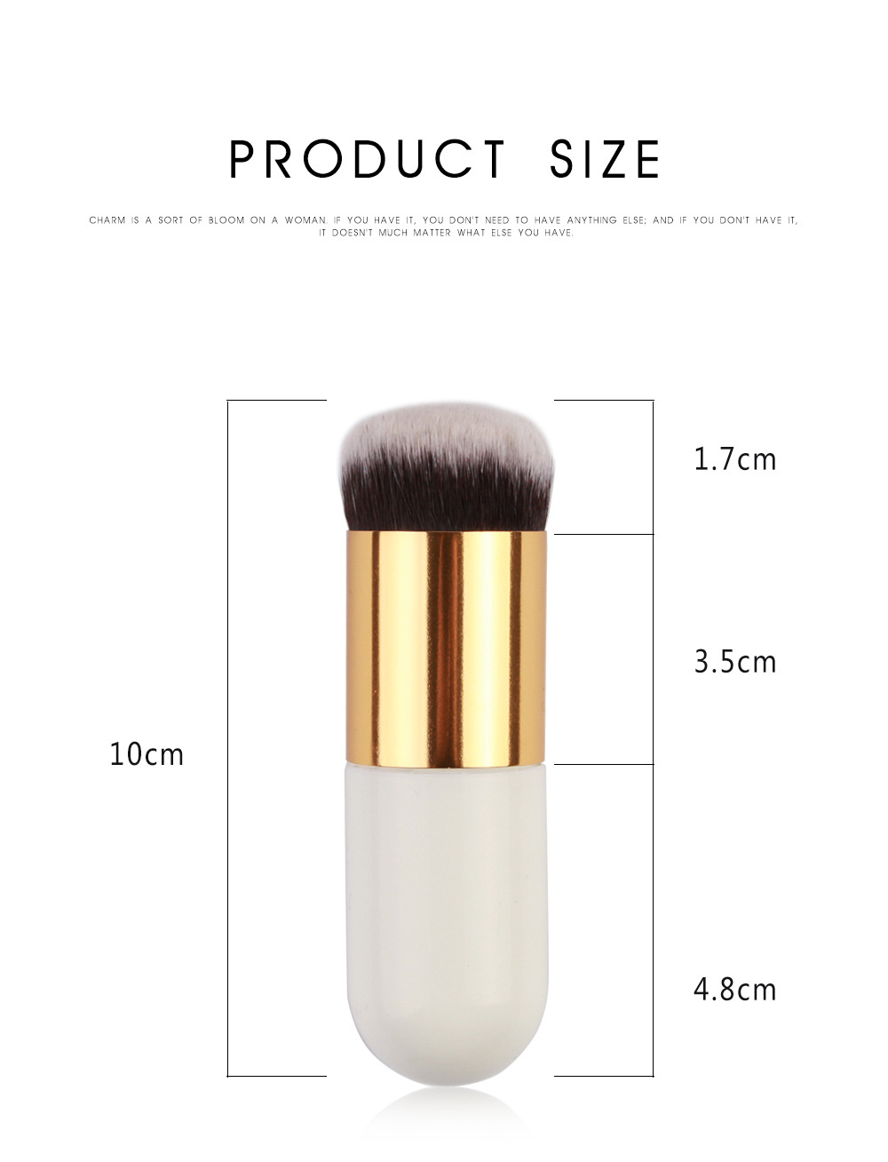 Single Foundation Makeup Brush 5