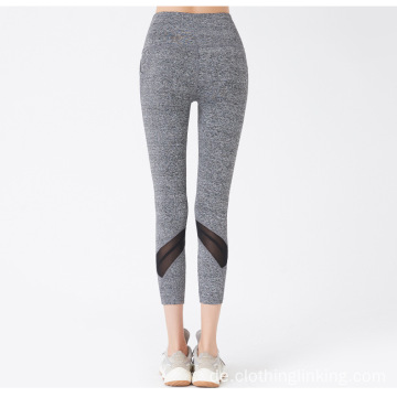 High Waist Mid Calf Legging Yoga Hose