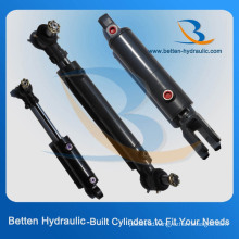 375 Bar Hydraulic Cylinder with Swivel Ball Mounts