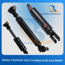 375 Bar Hydraulic Cylinder with Swivel Ball Mounts