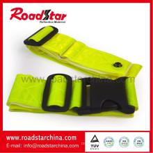 Reflective waist belt in PVC tape