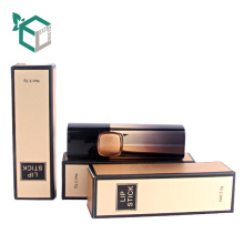 Gold Top Qualität kosmetische Box benutzerdefinierte flüssige Lippenstift für Lippenbalsam