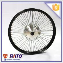 Para rodas de motocicleta de 70cc de alta qualidade e baratas de alumínio preto