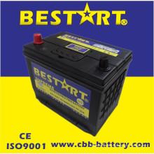 Bateria superior JIS 55D26r-Mf do veículo de Bestart Mf da qualidade 12V60ah