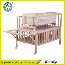 Cama quente européia padrão da cama de madeira
