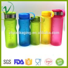 PCTG bouche large buvant vide rpte bpa bouteille d'eau en plastique libre