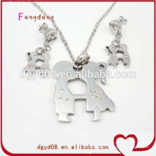 2015 new style stainless steel set jewelry