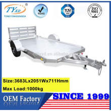 pull behind heavy duty equipment cargo utility trailers