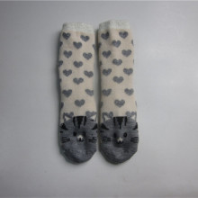 Calzini Cute Cat Jacquard Floor