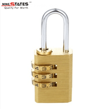 21MM 3 Digit Combination Lock Code Padlock